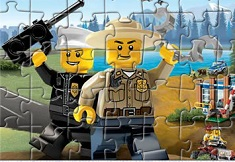 Lego Puzzle Police