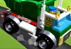 Lego Recycle Truck