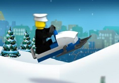 Lego Snowmobile