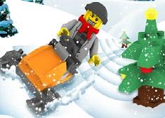 Lego Snowmobile 2