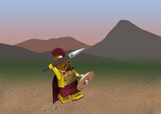 Lego Spartan Thrower