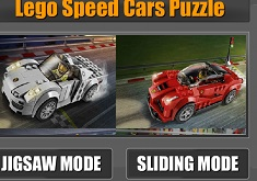 Lego Speed Cars Puzzle