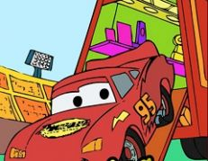 Lighting McQueen Online Coloring