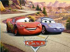 Lightning McQueen and Sally Puzzle