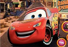 Lightning McQueen Race Puzzle