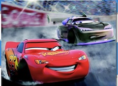 Lightning McQueen Racing Puzzle