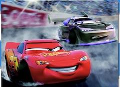 Lightning McQueen Racing Puzzle