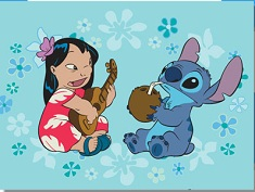 Lilo and Stitch Singing Puzzle