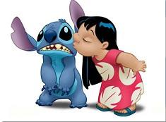 Lilo Kisses Stitch Puzzle