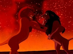 Lion King Fighting Puzzle