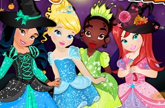 Little Disney Princesses Halloween