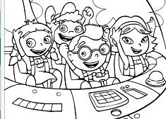 Little Einsteins Coloring Little Einsteins Games