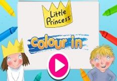 Little Princess Colour In