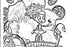 luna petunia coloring pages Luna Petunia Coloring   Luna Petunia Games luna petunia coloring pages