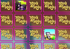 Mack and Moxy Memory Cards