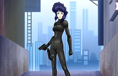 Major Motoko Kusanagi