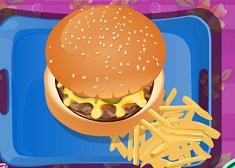 Make Fast Food Burger
