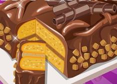 Make Peanut Butter Chocolate Cake
