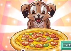 Make Puppy Pizza