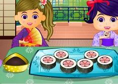 Make Sushi Rolls
