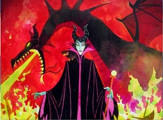 Maleficent and Dragon Puzzle