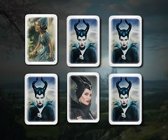 Maleficent  Memory Cards