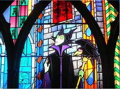 Maleficent Stained Glass Puzzle