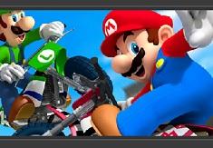 Mario and Luigi Motorbike Puzzle