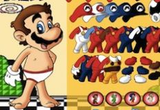 Super Mario Bros Dress Up
