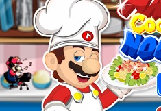 Mario Cooking Noodle