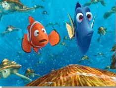Marlin and Dory Surprised Puzzle