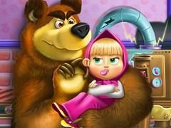Masha and Bear Toy Disaster