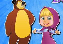 Masha and the Bear Doll House