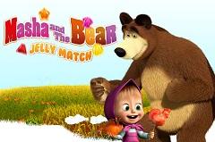 Masha and the Bear Jelly Match