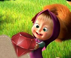 Masha and The Bear Jewel Match