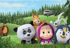 Masha and the Bear Puzzle 2
