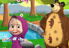 Masha and the Bear Rainy Day