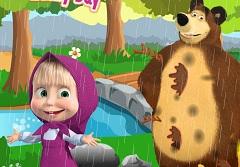 Masha and the Bear Rainy Day