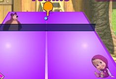 Masha and the Bear Tennis