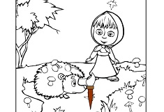 Masha and the Hedgehog