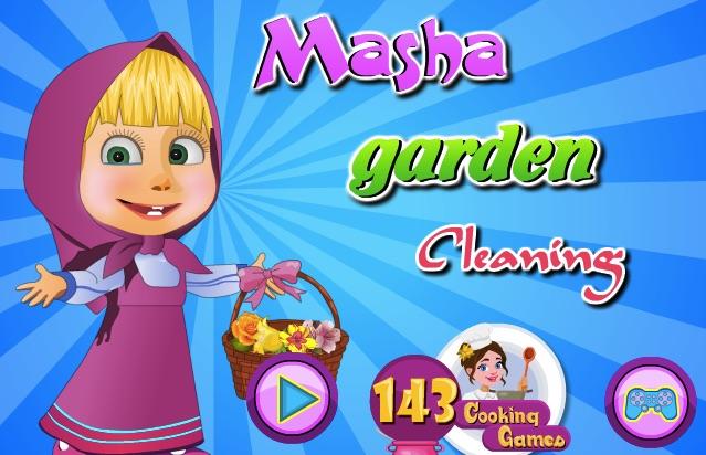 Masha Garden Cleaning