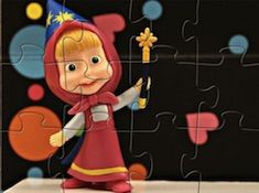 Masha Hokus Pokus Puzzle