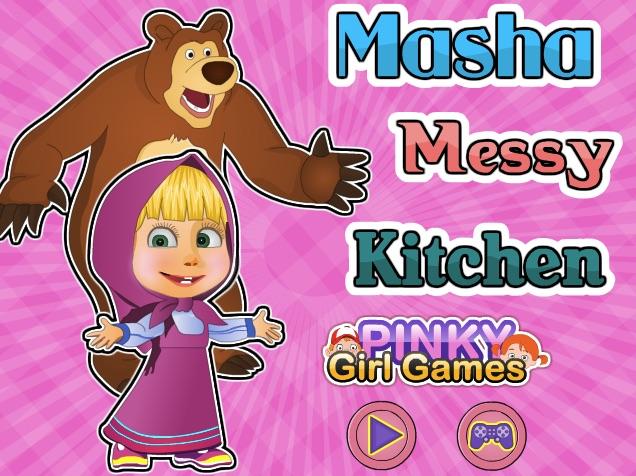 Masha Messy Kitchen