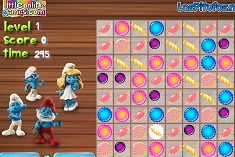 Smurfs Candy Match