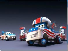 McQueen Super Cars Team