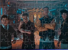 Mech X4 Characters Puzzle
