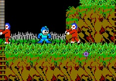 Mega Man vs Ghosts and Goblins