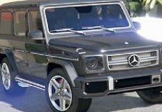Mercedes G Class Jigsaw