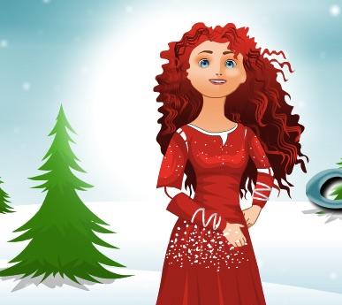 Merida Christmas Clothes