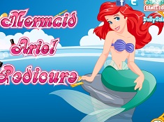 Mermaid Ariel Pedicure